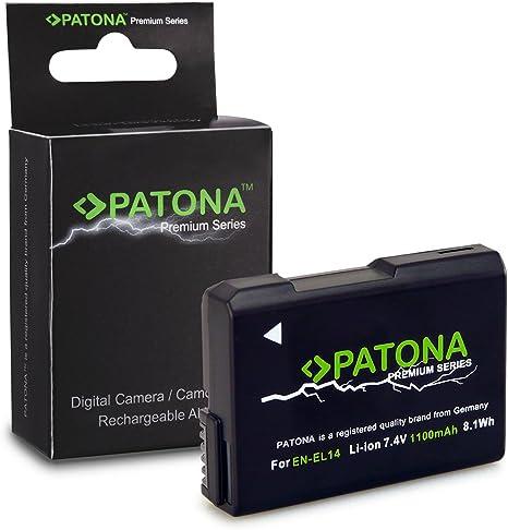 Premium Batería EN-EL14 / EN-EL14a para Nikon D3100 | D3200 ...