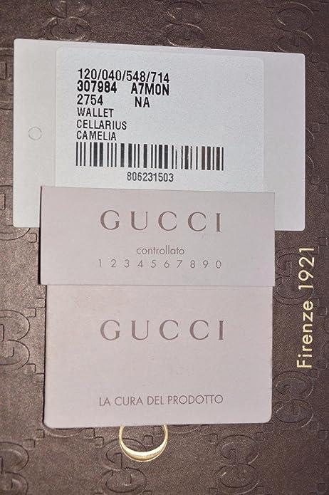 26e0fa5caf3b Amazon.com  Gucci Women s Leather Micro GG Guccissima Crossbody Wallet Bag  (466507 Orange)  Shoes
