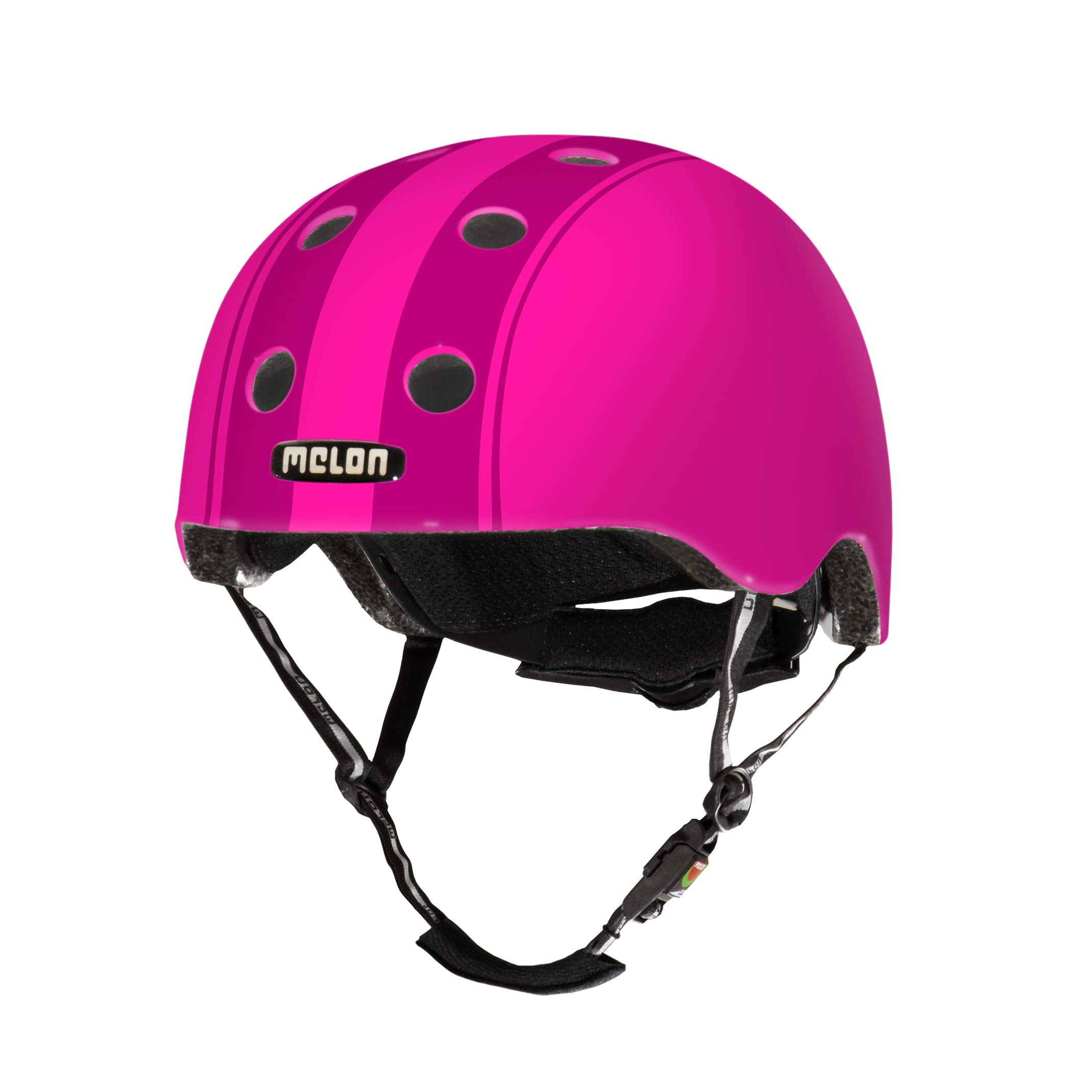 Melon Decent Double Purple Helmet, Purple, Matte Finish, Large, 58 - 63cm / 22.75 - 25in Head Size