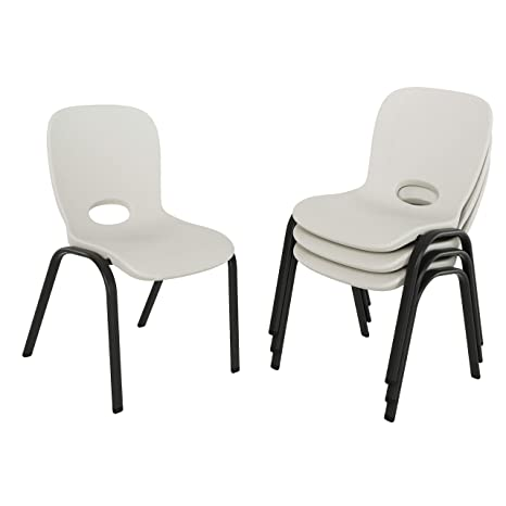 Wondrous Lifetime Children Chair Almond 4 Piece Machost Co Dining Chair Design Ideas Machostcouk