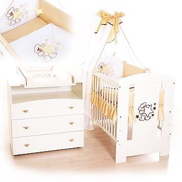 Babyzimmer sparset incl. Babybett , Wickelkommode , Ausstattung ... | {Babyzimmer ausstattung 62}