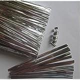 Amazon Com Weststone 1000pcs 4 Quot Silver Metallic Twist