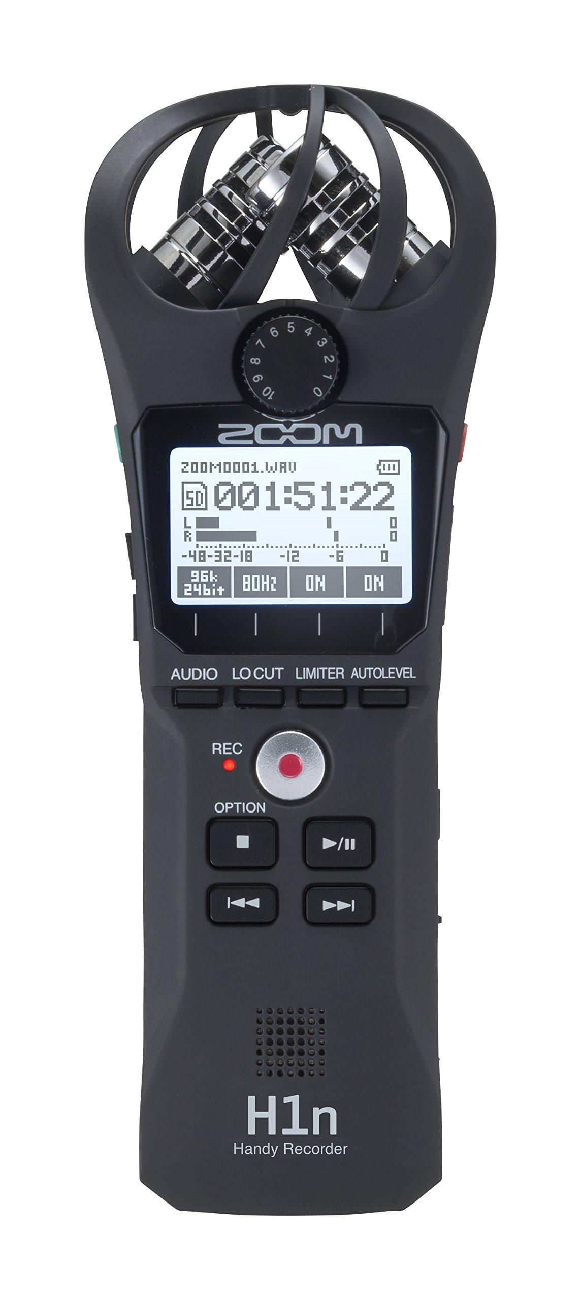 Zoom H1n Handy Recorder (2018 Model) by Zoom