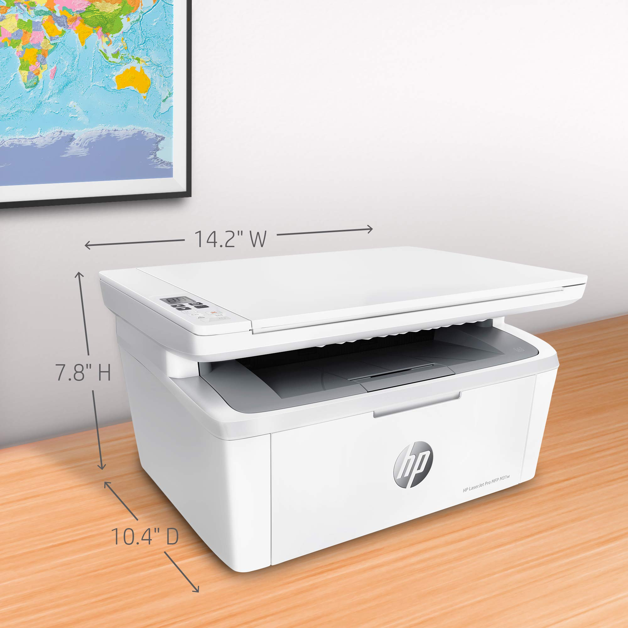 HP Laserjet Pro M31w All-in-One Wireless Monochrome Laser Printer with Mobile Printing (Y5S55A) by HP (Image #4)