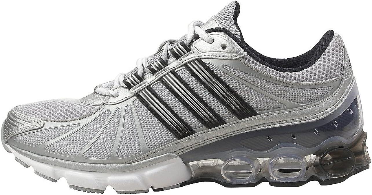 adidas - Microbounce Hombre, Multi (Plateado/Negro/Blanco), 6,5 D(M) US: Amazon.es: Zapatos y complementos