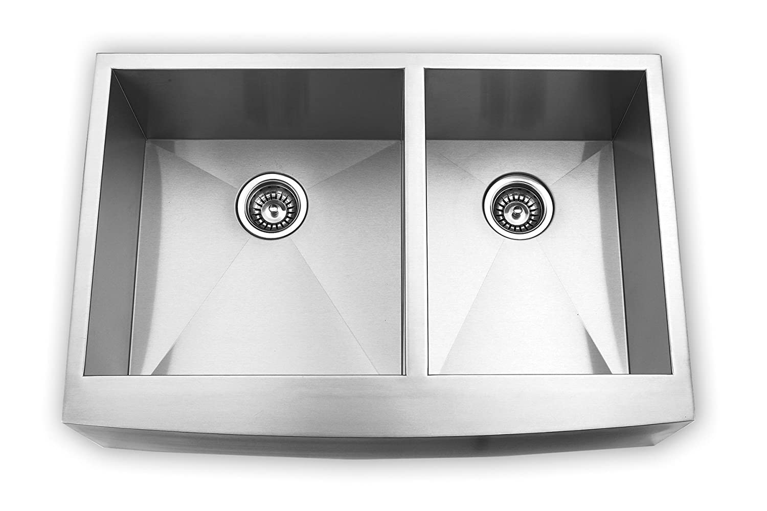 stainless undermount return double product kingston kitchen gourmetier steel brass previous sinks lightbox page to sink bowl