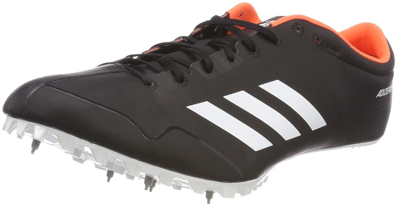 adidas Adizero Prime SP, Zapatillas de Atletismo Unisex Adulto 45 1/3 EU|Negro (Negbas/Ftwbla/Naranj 000)