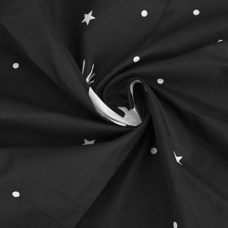 Rideau de Lit Anti-Poussi/ère pour Dortoir Rideau Occultant pour Lit Superpos/é Rideaux de Cabane pour lit Sur/élev/é//Mi-Hauteur Mezzanine Moustiquaire /à Tissu Ombrage pour Etudiants-Facile /à Installer