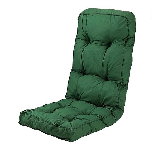 Cojín para sillón reclinable de jardín o exteriores: Amazon ...