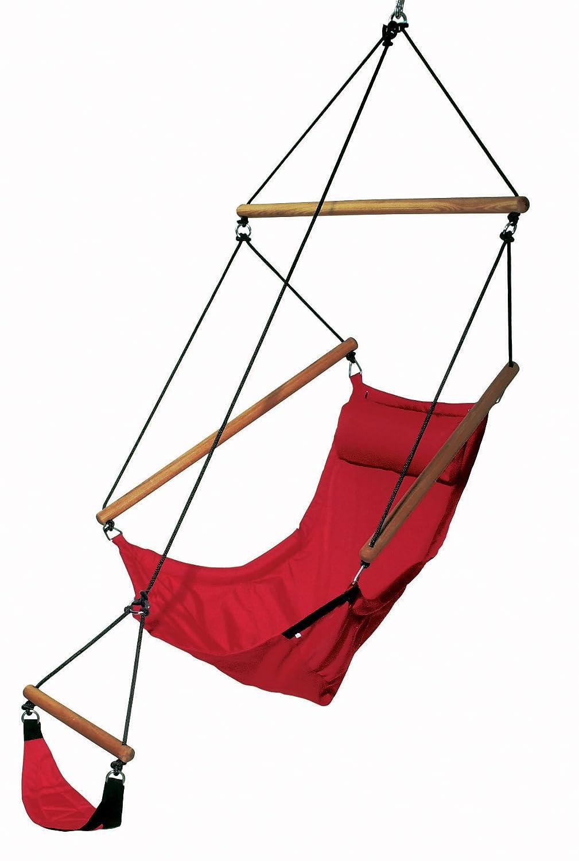 Amazonas fauteuil suspendu swinger rouge