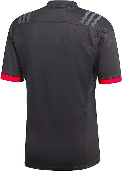 adidas New Zealand All Blacks Maori Rugby Jersey 18/19: Amazon.es ...