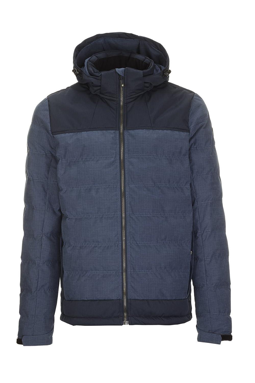 Killtec Herren Ninou Jacke in Daunenoptik  Winterjacke mit abzippbarer Kapuze