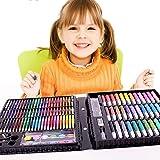致暖Warmest 彩盒包装 环保无毒儿童马克笔 蜡笔 水彩笔 油画笔 文具绘画150件套装
