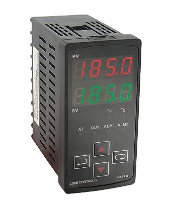Amazon.com: Dwyer 8 C-3, control de temperatura, 1/8 Din, la ...