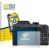 BROTECT AirGlass Pellicola Vetro Flessibile Chiaro per Nikon Coolpix B500 Proteggi Schermo, Vetro Protettivo - Extra-Resistente, Ultra-Leggero
