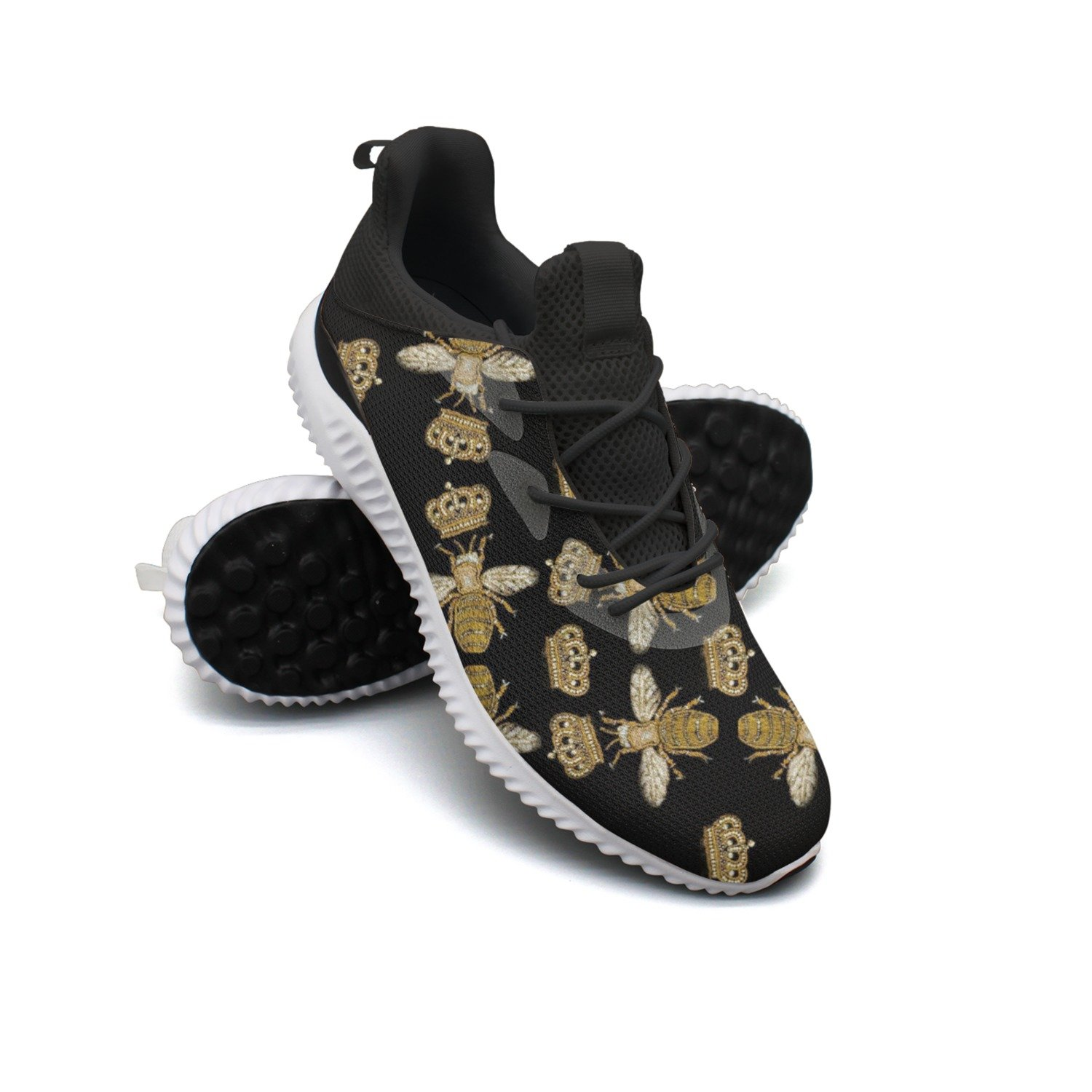 Crown And Queen Bee Leisure Running Shoes Woman Camping Custom Colorful