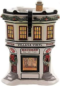 Department 56 Original Snow Village Accessories Village Vinyl Lighted Building, 7.28-inch Height