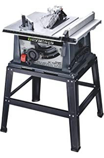 Bon Genesis GTS10SB 10 Inch 15 Amp Table Saw With Stand