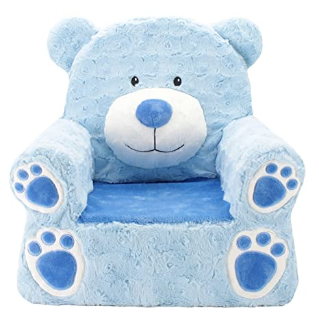 Fantastic Animal Adventure Sweet Seats Character Chair Blue Bear Pabps2019 Chair Design Images Pabps2019Com