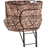 Guide Gear 2 Person 20' Double Rail Ladder Tree Stand with Hunting Blind