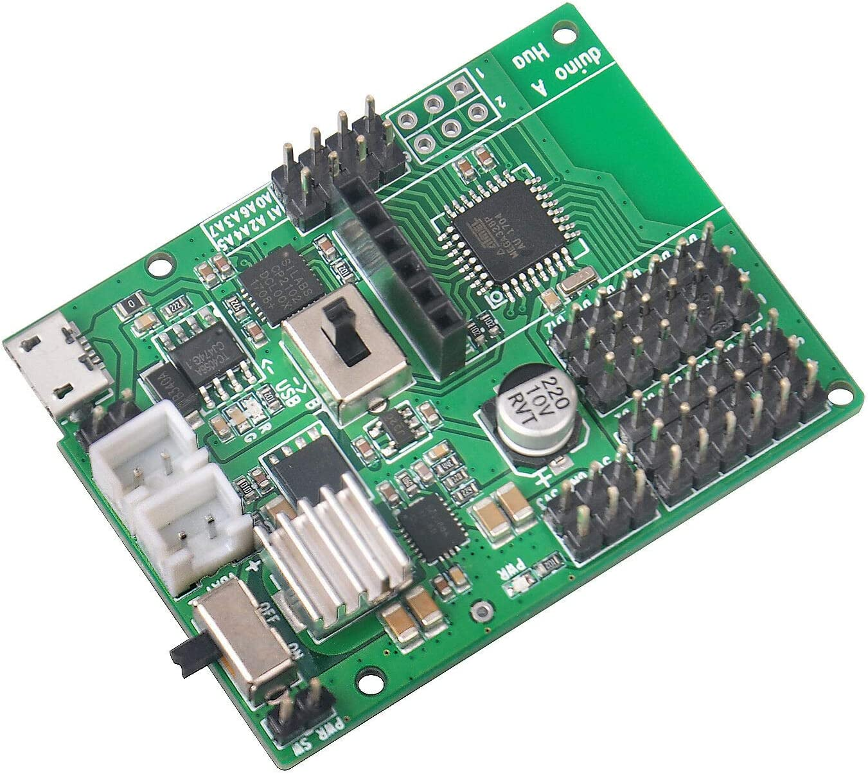 FidgetGear f/ür Arduino Nano Huaduino Roboterwagen DIY Programmierung Entwicklung Board