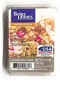 Better Homes and Gardens Warm Spring Sunshine Wax Cubes - 2017 Limited Edition