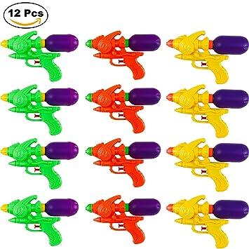 Pistolas de agua P. Rincon Pack 12 pcs Water Blaster 19cm ...