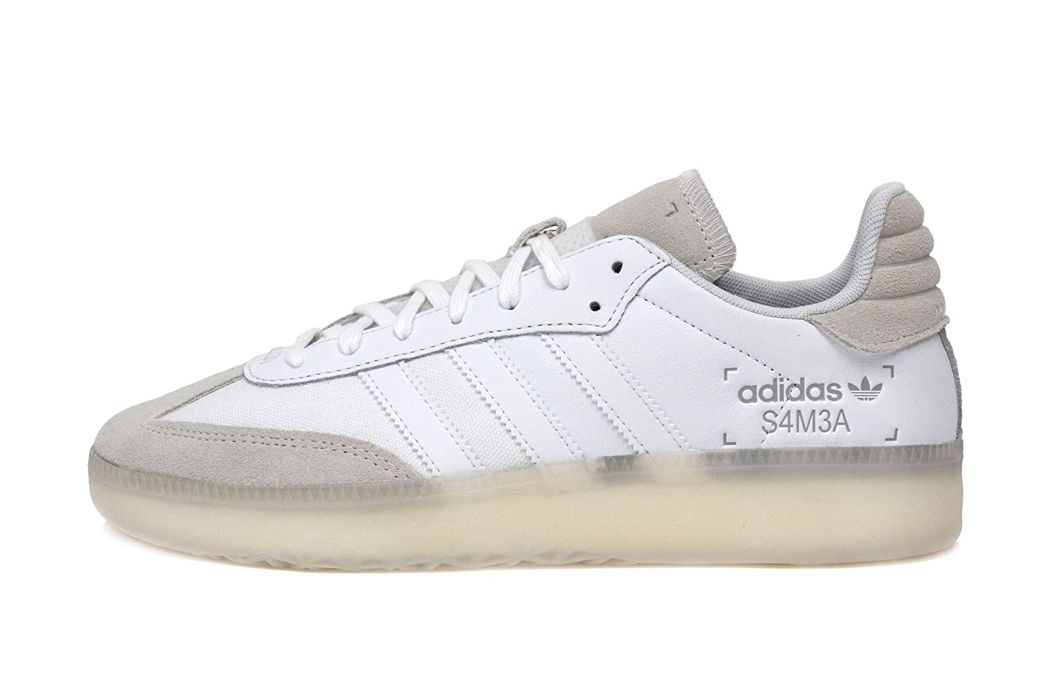 Amazon.com | adidas Samba RM Mens in White/White | Fashion Sneakers