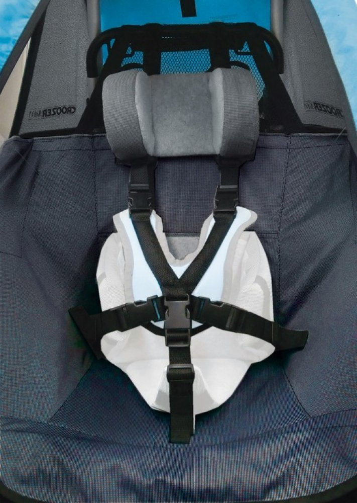 Ersatzsitzbezug f.Kinderanh. Croozer ab 2012 Kid for1 Mono dunkelblau
