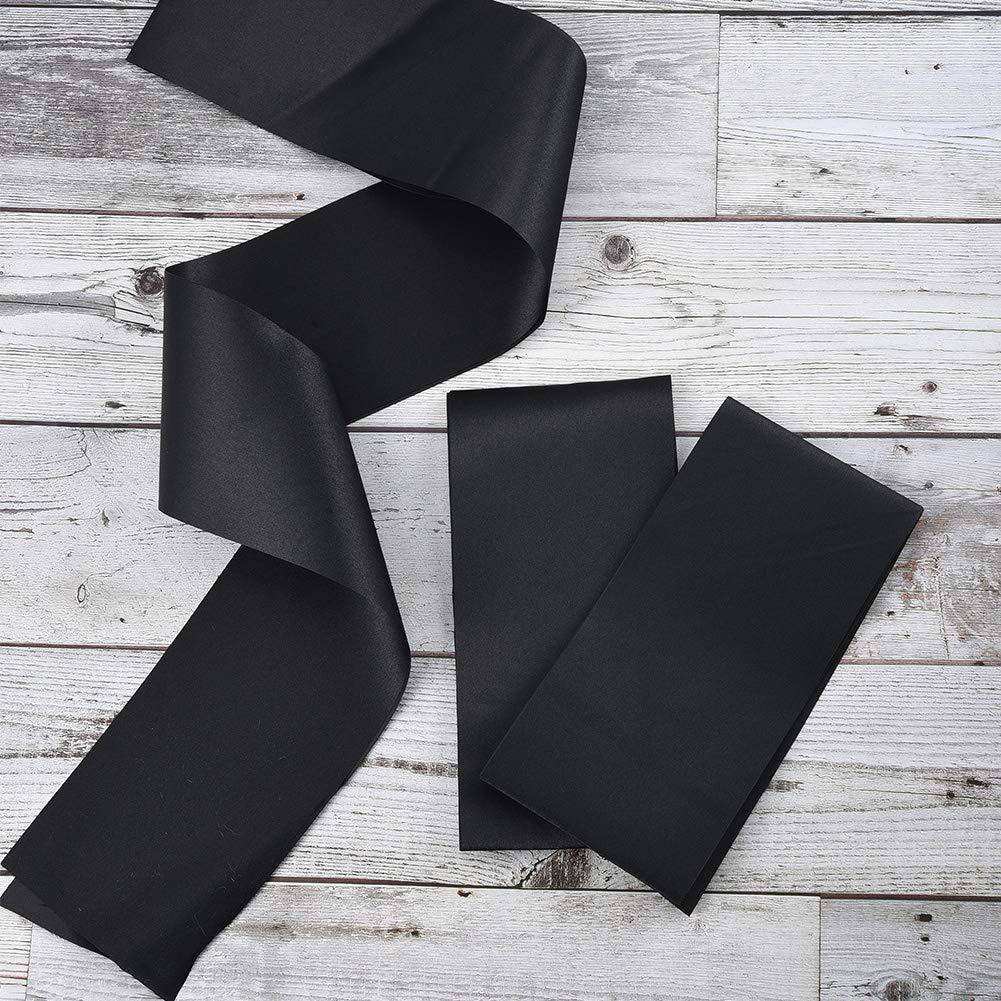 4 Pack Plain Satin Sashes Multicolor 10cm Etiquette Belt for Hen Party//Birthday//Wedding//Pageants Cizen Personalised Sash
