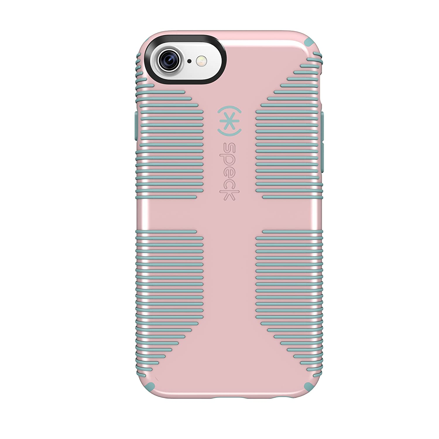 hot sale online 5f7a7 d3c20 Speck Products CandyShell Grip Cell Phone Case for iPhone 7/6S/6 - Quartz  Pink/River Blue