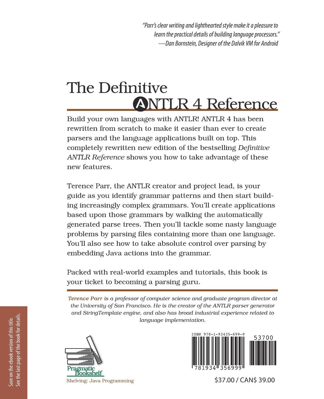 Definitive Antlr 4 Reference Pdf