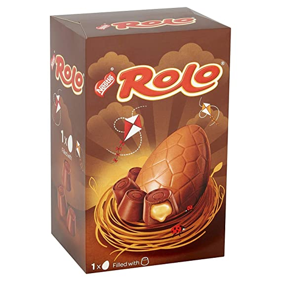 Rolo Chocolate Easter Egg 131g: Amazon.es: Alimentación y bebidas