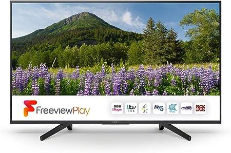 Sony Kd55xf7003 BU xf70 55 h 4k Ultra HD HDR Smart TV con TDT Play, Negro: Amazon.es: Electrónica