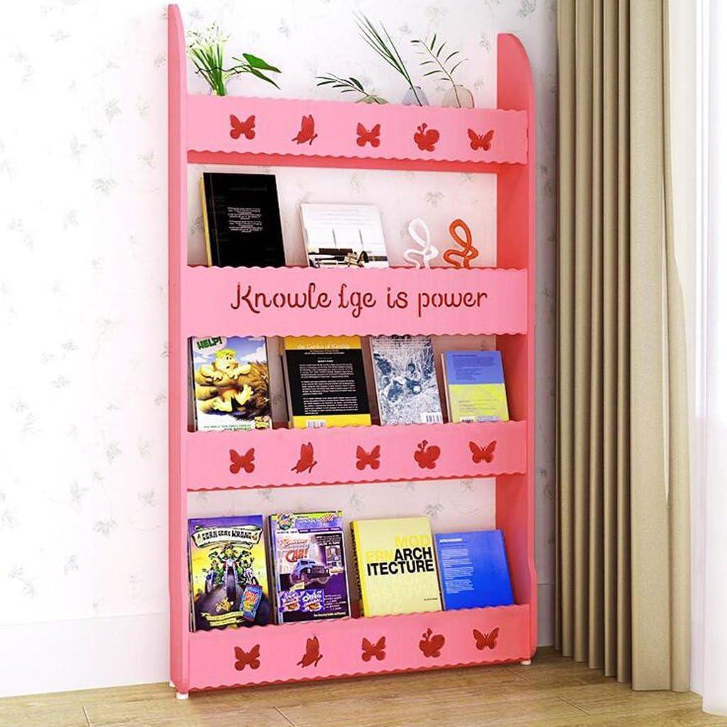 CJH Floor-Standing Four-Story Combination Childrens Bookshelf ...