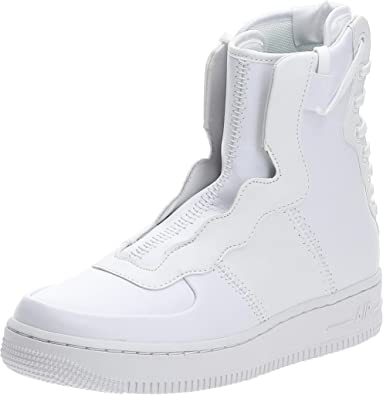 Mucho bien bueno radio Nublado  Amazon.com | Nike Women's Air Force 1 Rebel XX PRM White AO1525-101 (Size:  6) | Basketball