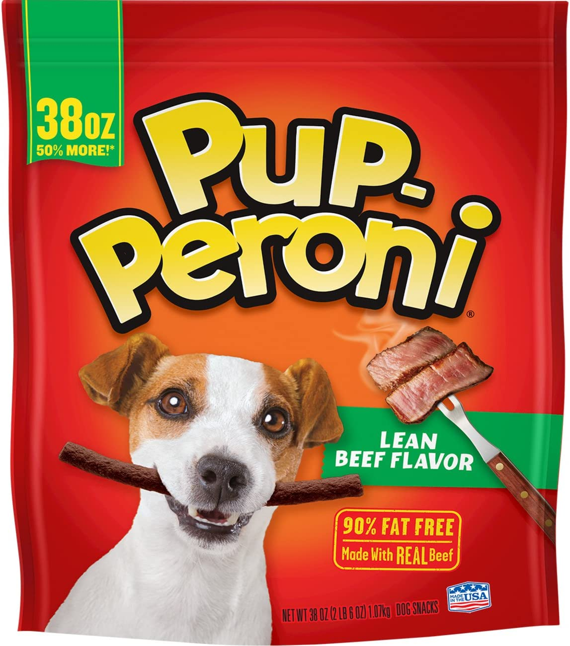 Pup-Peroni Original Lean Beef Flavor Dog Snacks, 38-Ounce