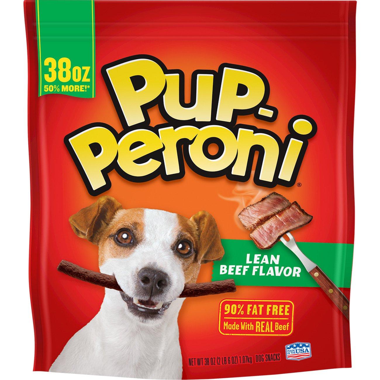 Pup-Peroni Lean Beef Flavor Dog Snacks, 38 oz