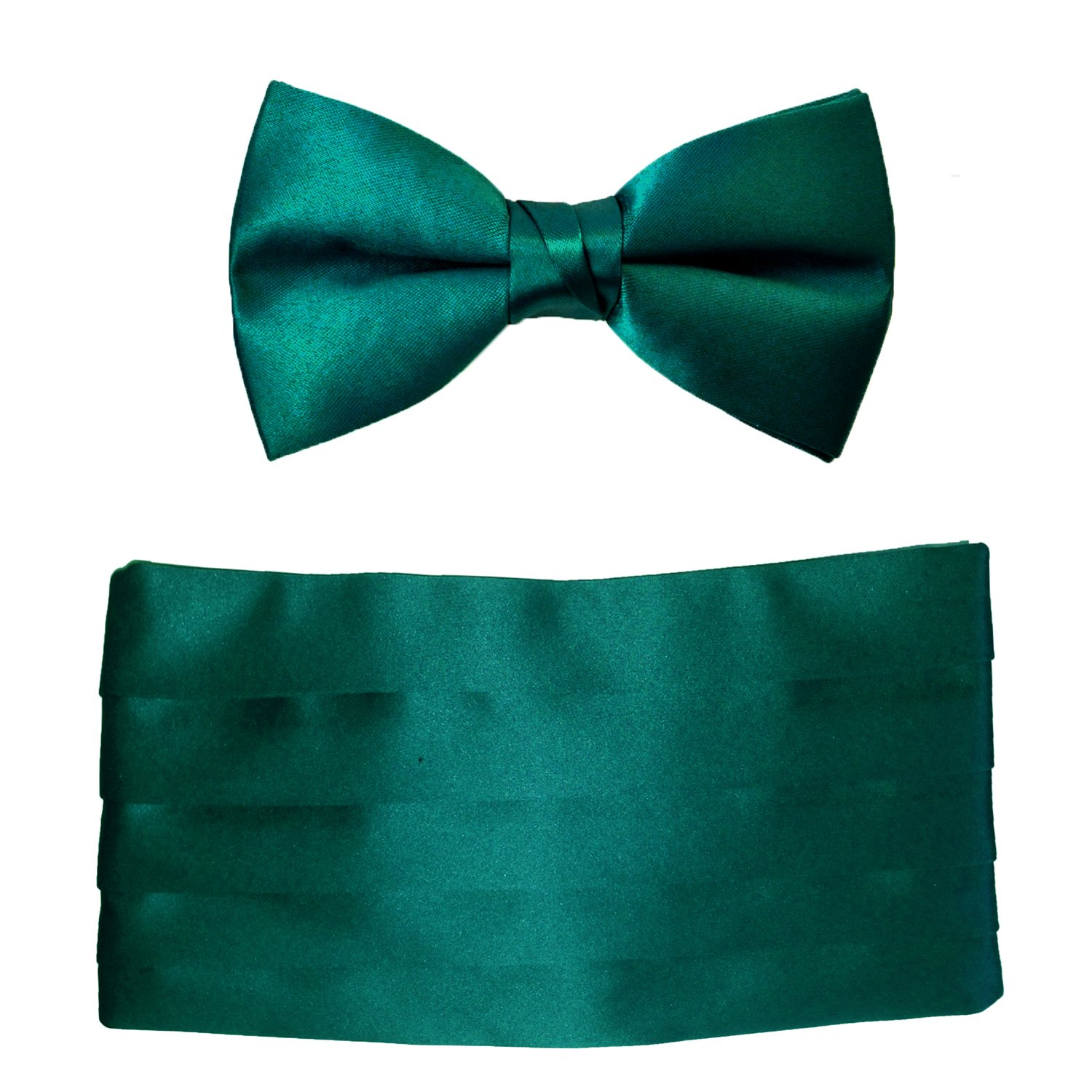 Mens Oasis Satin Cummerbund & Bow Tie Set