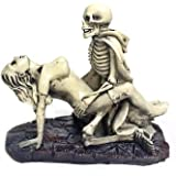 Bellaa Nude Funny Dracula Lover Skulls Sexy Statues Adult Ceremony Polyresin