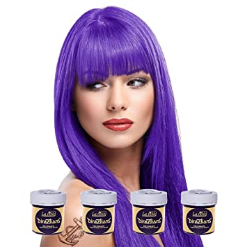 haarfarbe lila violett