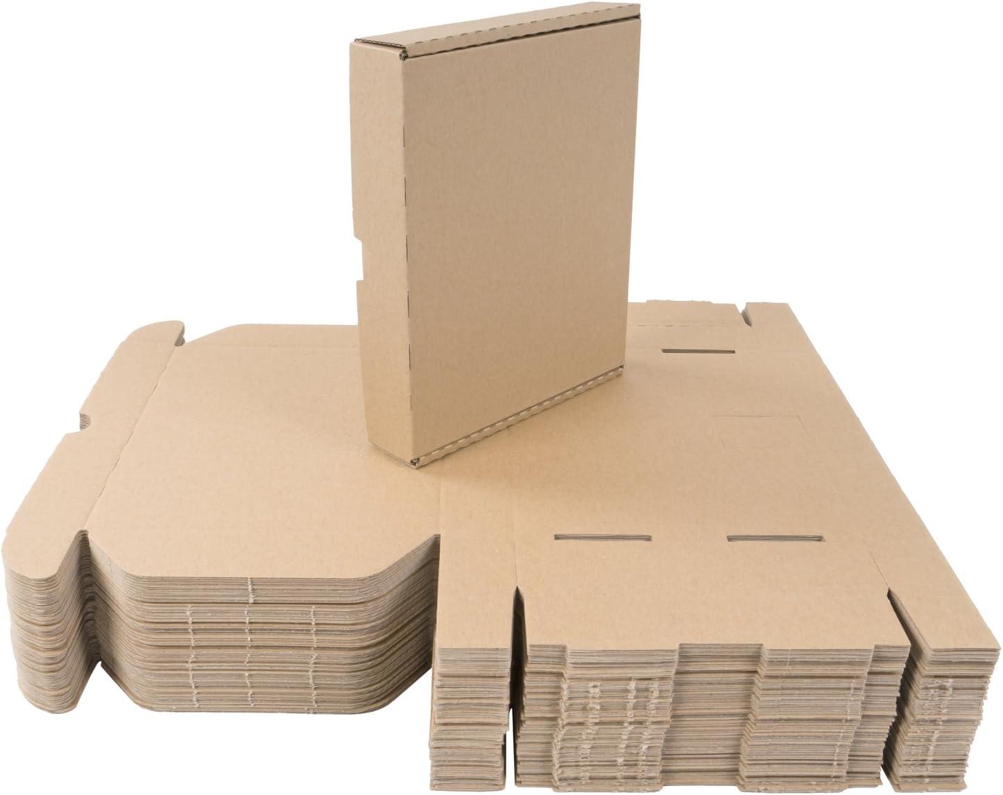 50 Caja 22 x 18 x 4 cm Cajas de Cartón Plegables de Cartón Grande – Envío Cartón): Amazon.es: Hogar