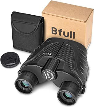 BFULL 10x25 Binocular with Carrying case & Strap