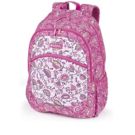 Mochila Grande Gabol Magic Rosa