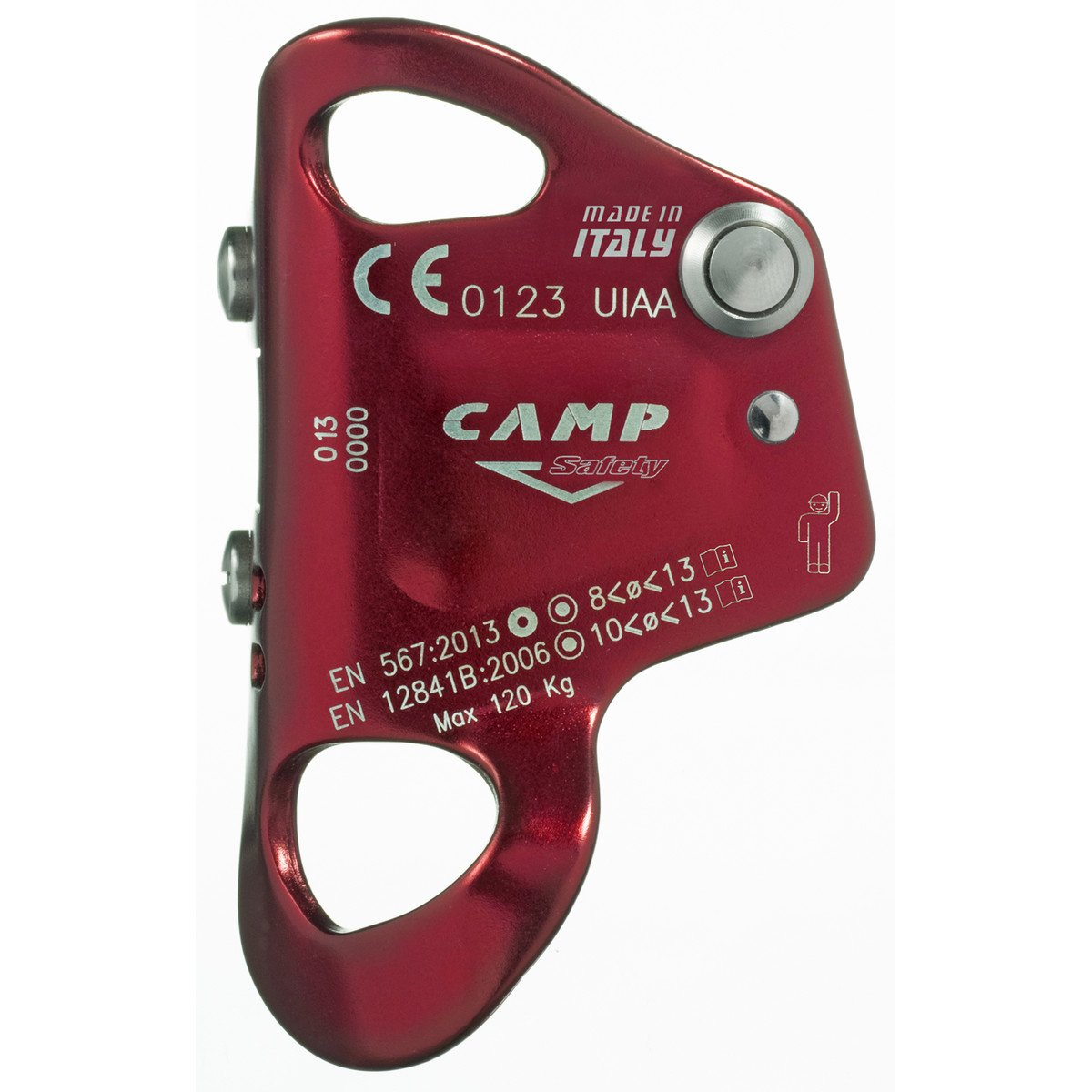 Camp Turbochest grey//red 2019 safety climbing accessories