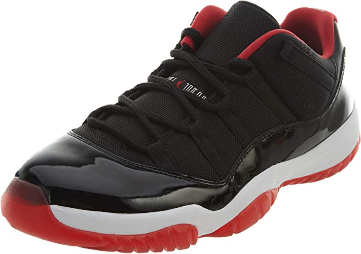 Amazon Com Air Jordan 11 Retro Low Bred 528895 012 Running