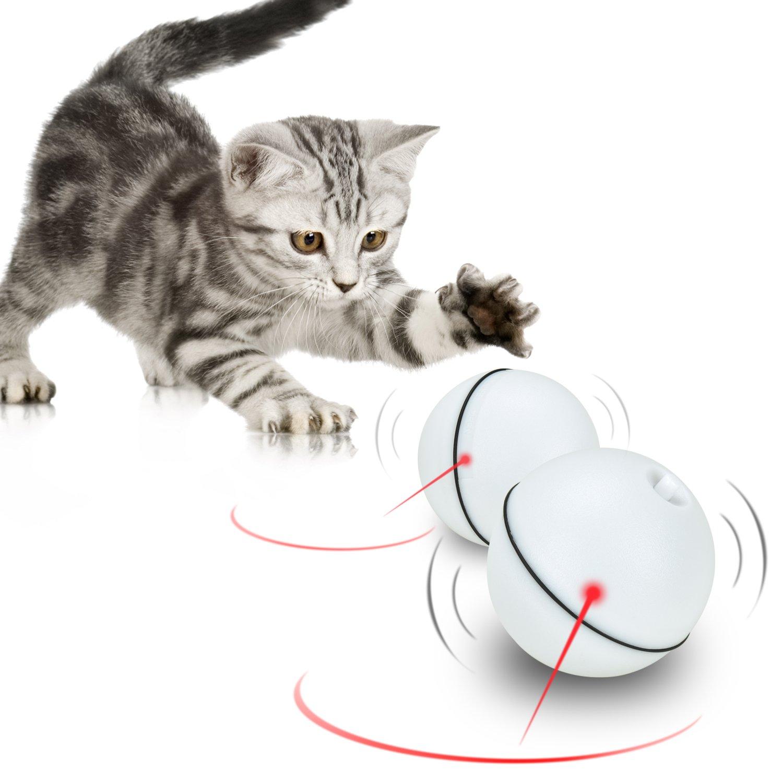 Katzenspielzeug Bälle [Automatische Rotierende Elektrische Licht ...