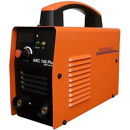 Arc 140 Plus MMA S de mano Soldador inverter tecnología IGBT de Welder Base Naranja
