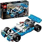 LEGO Technic Police Pursuit Toy Car, Multi-Colour