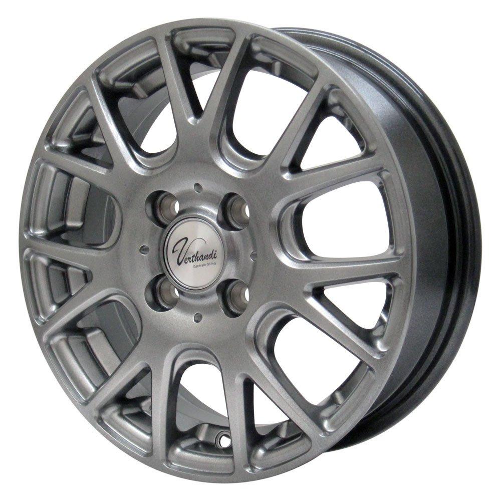 NANKANG(ナンカン) サマータイヤ&ホイールセット NS-2R 195/55R15 Verthandi(ヴェルザンディ) 15インチ 4本セット B01LW553GS